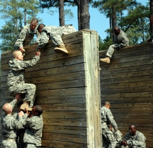 Bootcamp Obstacle Teamwork